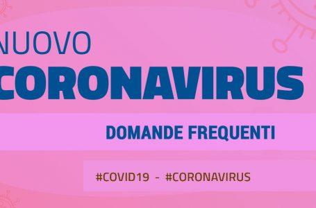 FAQ | emergenza Coronavirus
