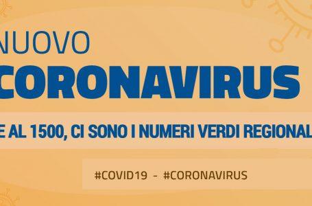 I numeri verdi regionali | emergenza coronavirus