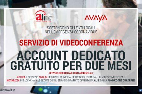 COVID-19 ED ENTI LOCALI: ALI OFFRE IL SERVIZIO DI VIDEOCONFERENZA GRATUITO