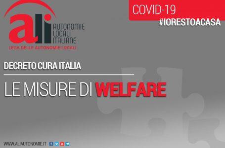 CURA ITALIA: APPROFONDIMENTO SUL WELFARE