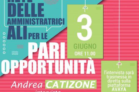 MERCOLEDÌ 3 GIUGNO ANDREA CATIZONE INTERVISTA STEFANIA BONALDI, SINDACA DI CREMA