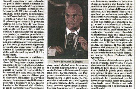 IL CONGRESSO ALI DIVENTA L'APPUNTAMENTO ANNUALE DEGLI AMMINISTRATORI RIFORMISTI