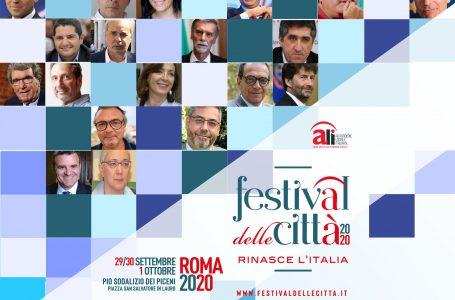 FESTIVAL DELLE CITTÀ: TRA LE CONFERME ANCHE DI MAIO, FRANCESCHINI E DADONE