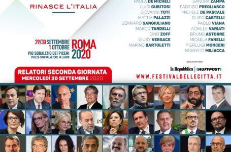FESTIVAL DELLE CITTÀ 2020: I RELATORI DELLA SECONDA GIORNATA