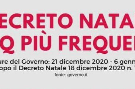 DECRETO NATALE, LE NUOVE FAQ DEL GOVERNO