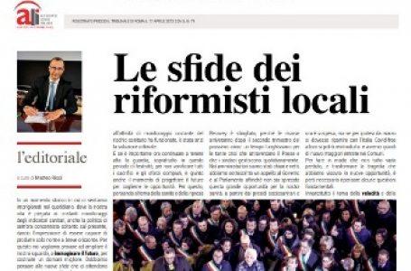 """Enti locali, torna la rivista online di ALI """"Governare il Territorio"""", in una veste completamente rinnovata"""