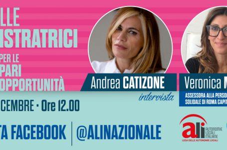 VERONICA MAMMÌ DOMANI CON ANDREA CATIZONE. INTERVISTA ALLE ORE 12:00