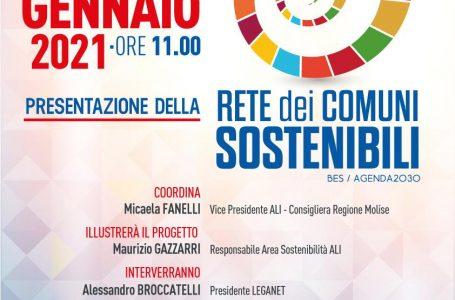 NASCE LA RETE ALI DEI COMUNI SOSTENIBILI. EVENTO ONLINE 14 GENNAIO 2021 ORE 11.00