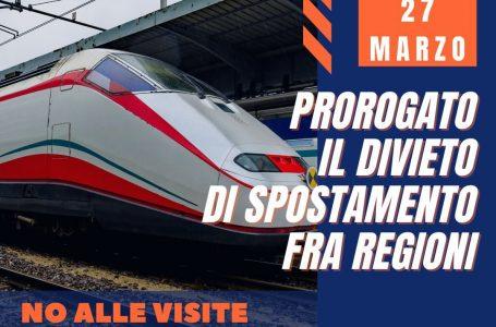 Dl Covid,  stop spostamenti tra Regioni fino al 27 marzo, no a visite case di privati in zone rosse