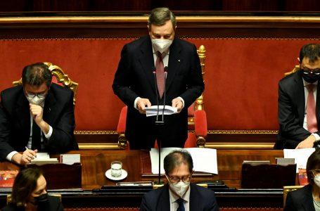 Il discorso di Draghi al Senato, il programma per il rilancio dell'Italia