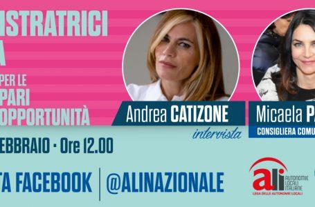 Dipartimento pari opportunità: domani alle ore 12.00 intervista a Micaela Paparella, consigliera comunale di Bari