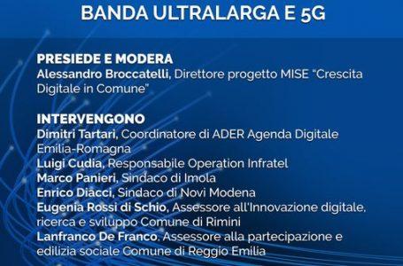 Banda ultralarga e 5G, il 13 maggio nuovo evento di ALI in Emilia Romagna