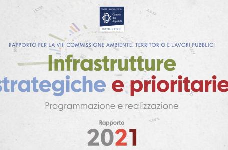 Infrastrutture strategiche e prioritarie. Presentato alla Camera dei deputati il Rapporto 2021