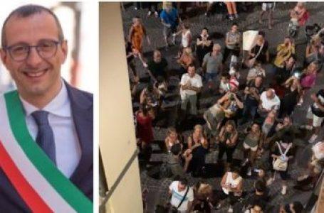 No Vax, la solidarietà dei sindaci e degli amministratori locali a Matteo Ricci