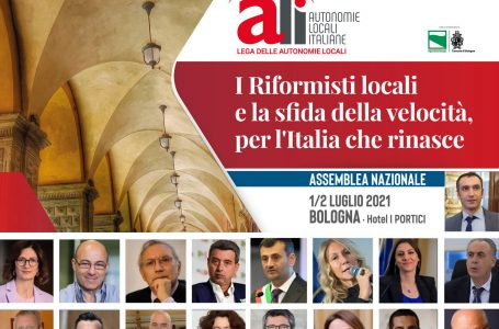 Per l'Italia che rinasce: al via i lavori della prima giornata dell'Assemblea nazionale ALI