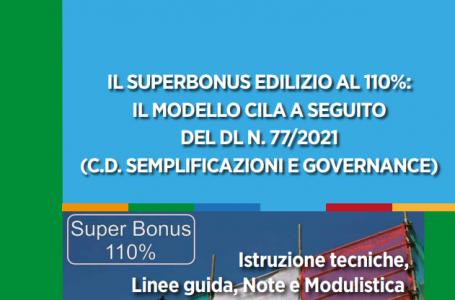 Nuova CILA Superbonus 110%: modello, istruzioni tecniche, linee guida e note