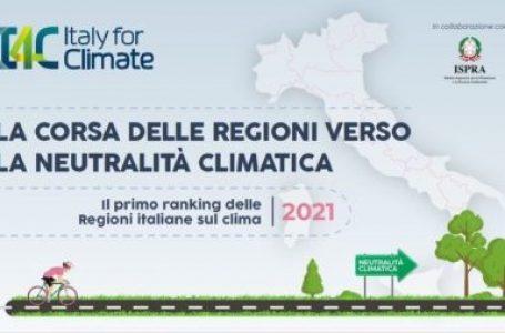 Regioni e neutralità climatica: il primo Ranking regionale sul clima di I4C (Italy for Climate)