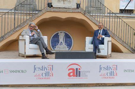 Festival delle Città, L'Italia veloce. Ricci apre la prima giornata con Di Maio e Brunetta: «Chi frena le riforme rallenta il Paese, chi crede nella democrazia deve accelerare»