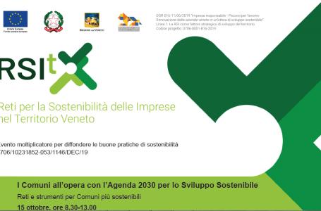 I Comuni all'opera con l'Agenda 2030 per lo Sviluppo Sostenibile – Reti e strumenti per Comuni più sostenibili