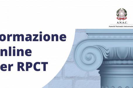 RPCT (Responsabili della Prevenzione della corruzione e della Trasparenza). In partenza il secondo modulo del ciclo di formazione dell'Anac